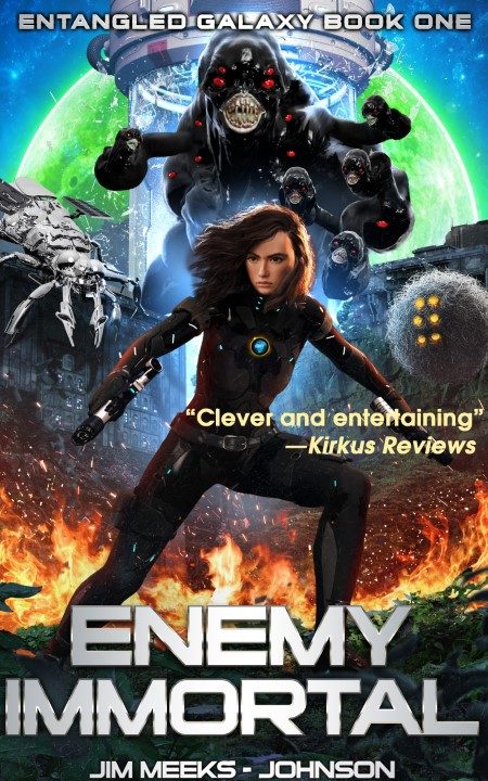 Cover for Enemy Immortal